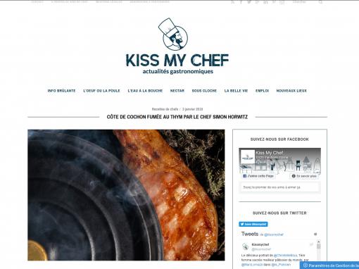 @Kiss my chef // Cochon fumé au thym