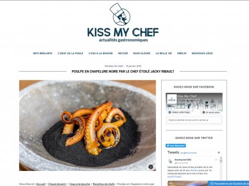 @Kiss my chef // Poulpe en chapelure noire