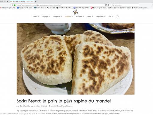 @La cuisine à quatre mains // Soda bread : le pain le plus rapide du monde